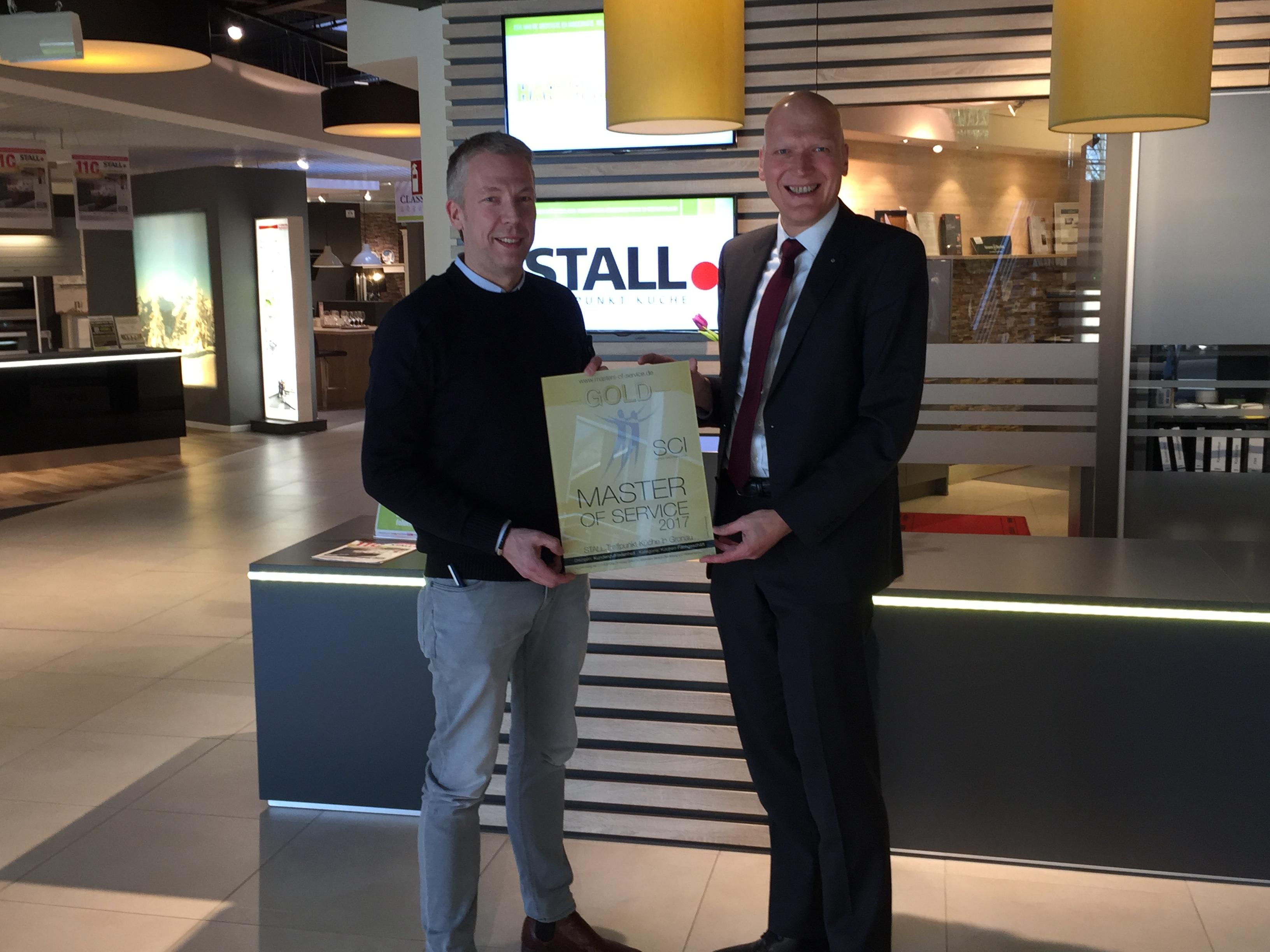 STALL.Treffpunkt Küche erhält Master-of-Service Award 15